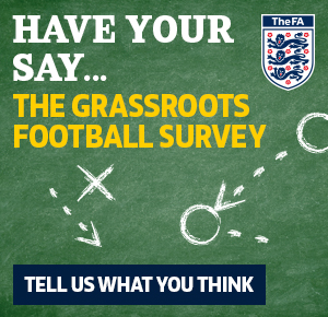 Have you say... Grassroots Football Survey