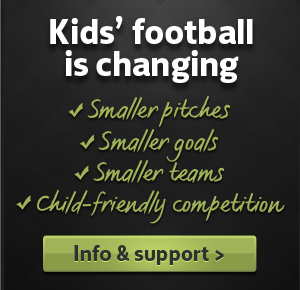 Kids Football is Training