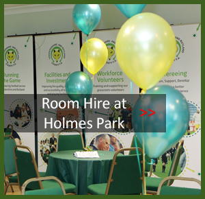 Room Hire at Holmes Park