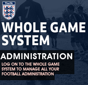 Log in to Whole Game System to deal with your administration