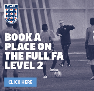 Book your place on the FA Level 2 course