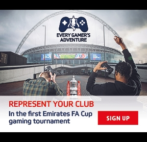 Represent your team in the first Emirates FA Cup gaming tournament