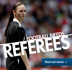 Football needs Referees